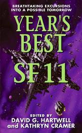 Portada de YEAR'S BEST SF 11