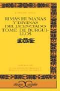 Portada de RIMAS HUMANAS Y DIVINAS DEL LICENCIADO TOME DE BURGUILLOS
