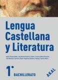 Portada de LENGUA Y LITERATURA CASTELLANA 1º BACHILLERATO