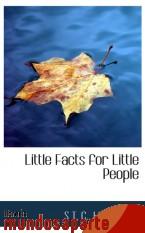 Portada de LITTLE FACTS FOR LITTLE PEOPLE