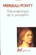 Portada de PHENOMENOLOGIE DE LA PERCEPTION