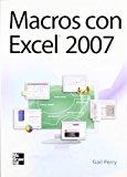 Portada de MACROS CON EXCEL 2007