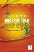 Portada de ESPAÑOL MAS CLARO. CD