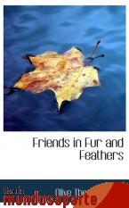 Portada de FRIENDS IN FUR AND FEATHERS