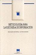 Portada de METODOLOGIA PARA LA RECOGIDA DE INFORMACION