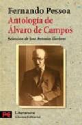Portada de ANTOLOGÍA DE ALVARO DE CAMPOS