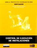 Portada de CONTROL DE EJECUCION DE INSTALACIONES