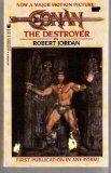 Portada de CONAN THE DESTROYER