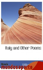 Portada de ITALY AND OTHER POEMS