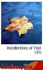 Portada de RECOLLECTIONS OF PAST LIFE