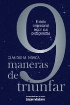 Portada de 9 MANERAS DE TRIUNFAR