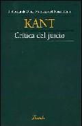 Portada de CRÍTICA DEL JUICIO