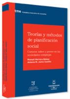 Portada de TEORÍAS Y MÉTODOS DE PLANIFICACIÓN SOCIAL