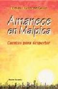Portada de AMANECE EN MALPICA: CUENTOS PARA DESPERTAR