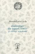 Portada de ALABANZA DE AQUEL VUELO Y OTRAS VISIONES
