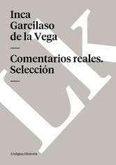 Portada de COMENTARIOS REALES - EBOOK