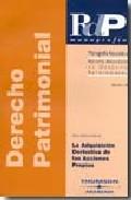 Portada de ADQUISICION DERIVATIVA DE ACCIONES PROPIAS