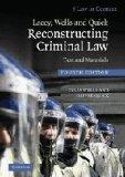 Portada de LACEY, WELLS AND QUICK RECONSTRUCTING CRIMINAL LAW: TEXT AND MATERIALS