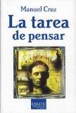 Portada de TAREA DE PENSAR