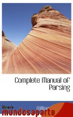 Portada de COMPLETE MANUAL OF PARSING