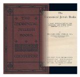 Portada de THE UNCANONICAL JEWISH BOOKS : A SHORT INTRODUCTION TO THE APOCRYPHA AND OTHER JEWISH WRITINGS 200 B. C. -100