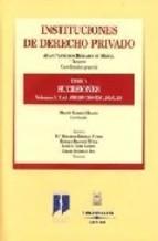 Portada de INSTITUCIONES DE DERECHO PRIVADO. PARTE V. SUCESIONES. VOL. 3º