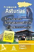 Portada de AUXILIARES ADMINISTRATIVO DE LA ADMINISTRACION DEL PRINCIPADO DE DE ASTURIAS. TEMARIO BLOQUE III. ACTIVIDAD OFIMATICA