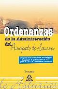 Portada de ORDENANZAS DE LA ADMINISTRACION DEL PRINCIPADO DE ASTURIAS. TEMARIO