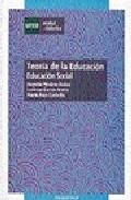 Portada de TEORIA DE LA EDUCACION: EDUCACION SOCIAL