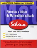 Portada de FORMULAS Y TABLAS DE MATEMATICA APLICADA