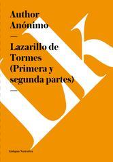 Portada de LAZARILLO DE TORMES (PRIMERA Y SEGUNDA PARTES) (EBOOK)