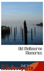 Portada de OLD MELBOURNE MEMORIES
