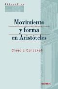 Portada de MOVIMIENTO Y FORMA EN ARISTOTELES