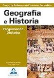 Portada de CUERPO DE PROFESORES DE ENSEÑANMZA SECUNDARIA: GEOGRAFIA E HISTORIA. PROGRAMACION DIDACTICA
