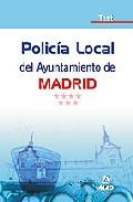 Portada de POLICIA LOCAL DEL AYUNTAMIENTO DE MADRID. TEST