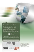 Portada de TRABAJADOR SOCIAL COMO TECNICO EN RELACIONES HUMANAS. COLECCION FORMACION CONTINUADA