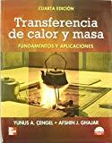 Portada de TRANSFERENCIA DE CALOR Y MASA  FUNDAMENTOS Y APLICACIONES