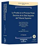 Portada de PRUEBA PROCESO PENAL : DOCTRINA DE LA SALA SEGUNDA DEL TR IBUNAL SUPREMO