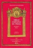 Portada de OBRAS COMPLETAS EN PROSA (VOL. II) (T. I)