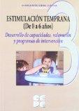 Portada de ESTIMULACION TEMPRANA 1  DESARROLLO DE CAPACIDADES , VALORACION YPROGRAMAS DE INTERVENCION