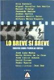 Portada de LO BREVE SI BREVE: CUENTOS SOBRE PELICULAS CORTAS