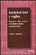 Portada de RACIONALIDAD Y REGLAS: ENSAYOS SOBRE TEORIA ECONOMICA DE LA CONSTITUCION