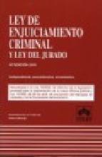 Portada de LEY DE ENJUICIAMIENTO CRIMINAL (18ª ED): COMENTARIOS, JURISPRUDENCIA, DOCTRINA, CONCORDANCIAS
