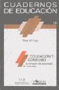 Portada de EDUCACION Y CONSUMO LA FORMACION DEL CONSUMIDOR EN LA ESCUELA