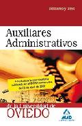 Portada de AUXILIARES ADMINISTRATIVOS DE LA UNIVERSIDAD DE OVIEDO. TEMARIO YTEST