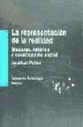 Portada de LA REPRESENTACION DE LA REALIDAD