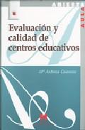Portada de EVALUACION Y CALIDAD DE CENTROS EDUCATIVOS