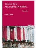 Portada de TECNICA DE LA ARGUMENTACION JURIDICA