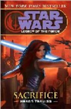 Portada de STAR WARS: LEGACY OF THE FORCE: SACRIFICE