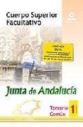 Portada de CUERPO SUPERIOR FACULTATIVO DE LA JUNTA DE ANDALUCIA. TEMARIO COMUN. VOLUMEN I